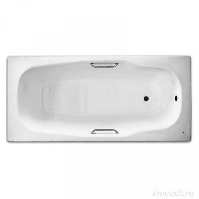 Ванна стальная BLB Atlantica Hg 180х80 с отверстиями для ручек