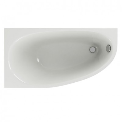 Отдельностоящая ванная Aquatek Дива 170х90 L левая, каркас, панель