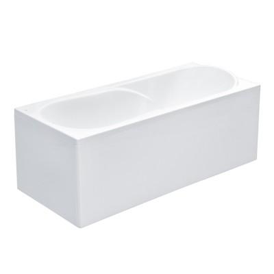 Акриловая прямоуг.ванна UNO 1600х750х500