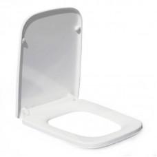 800-В2370а сиденье для унитаза дюропласт с микролифтом, белое MELANA