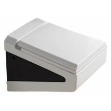 800-В2395BW подвесной унитаз черно-белый MELANA