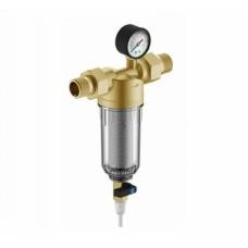 """Фильтр Гейзер-Бастион 111 3/4"""" (для холодной воды с манометром d60) (Акция %)"""