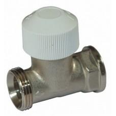 Вентиль термостатический на подающую линию DN15, G3/4'', тип 701301, прямой