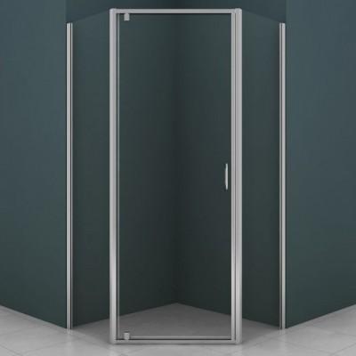 Душевое ограждение AZ-113P 90*90*200 хром, 6мм прозрачное стекло