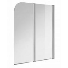 Экран для ванны EASY 140*115, двойной прозрачный