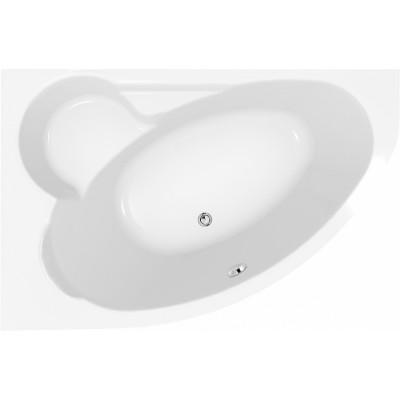 Акриловая ванна KALIOPE 170x100 левая, без ножек, белая