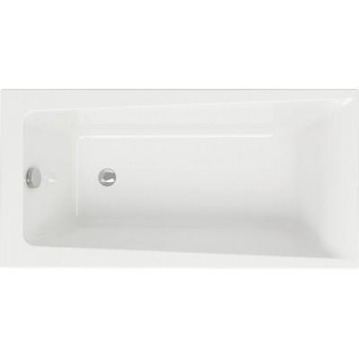 Акриловая ванна LORENA 140*70 с ножками, белый