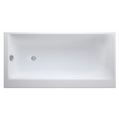 Акриловая ванна SMART 160*80 левая, с ножками, белый