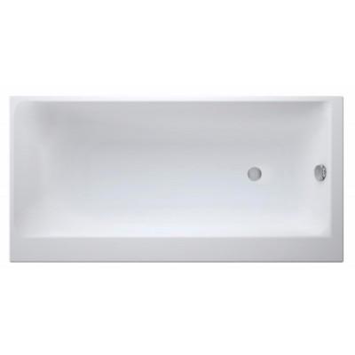 Акриловая ванна SMART 160*80 правая, с ножками, белый