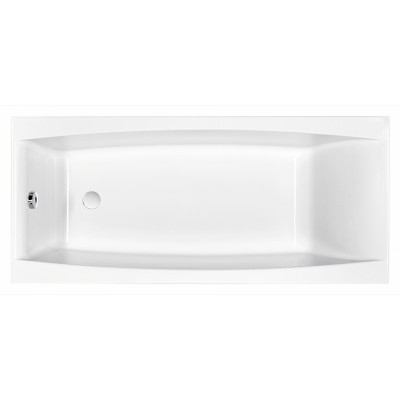 Акриловая ванна VIRGO 170*75 без ножек, белый