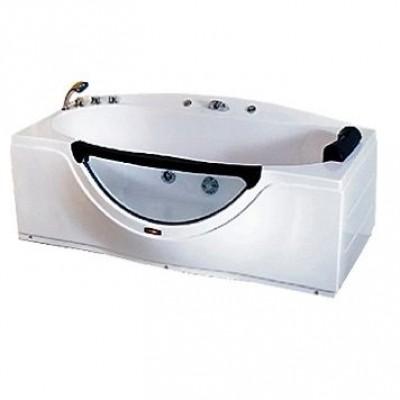 Акриловая гидромассажная ванна CS-832 168*90*68, левосторонняя