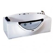 Ванна CS-832 R  1680*900*680 без г/м( в разборе,смеситель,сифон,подголовник,душ лейка и каскадник)