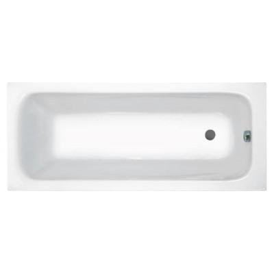 Акриловая прямоугольная ванна Jika Clavis 160х70, с м/к и сифоном