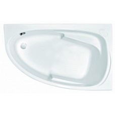 Акриловая ванна JOANNA 160x95 правая с ножками БЕЗ панели