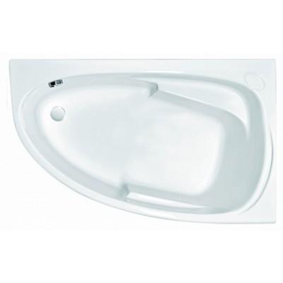 Акриловая ванна JOANNA 160x95 правая без ножек, белый