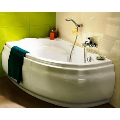 Акриловая ванна Cersanit JOANNA 150x95 левая, без ножек, белая