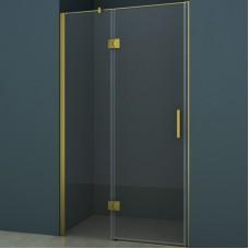 Душевое ограждение CS-102H 140*200 шкуренная бронза, 8мм прозрачное стекло