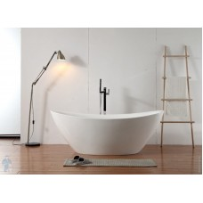Акриловая отдельностоящая ванна ABBER AB9248 180х87