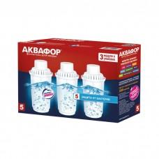 Модуль сменный фильтрующий Аквафор В100-5, усиленный бактерицидной добавкой (комплект) (3 шт) Аквафо