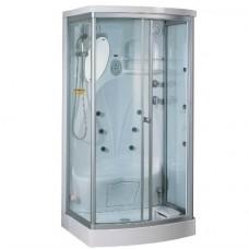 Душевая кабина TS-35WR 110*90*220*15 прозр,бел.дверь с правой стороны откр
