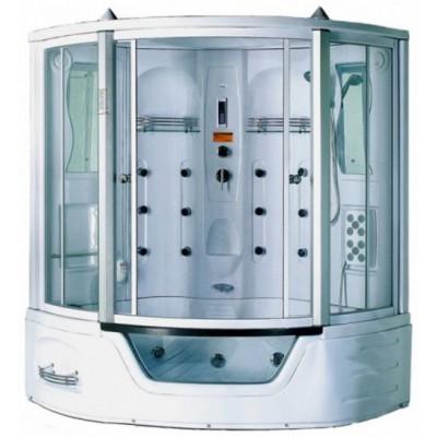 Душевая кабина А-0818 - А  158*158*220 г/м, а/м, подсветка выс.